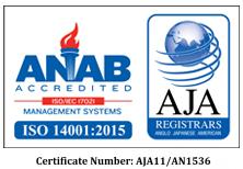 Bio-Tech is now ISO 14001:2015 Certified