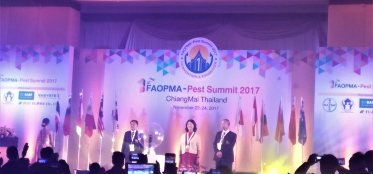 Bio-Tech attends the 1st FAOPMA – Pest Summit & AIB Certification